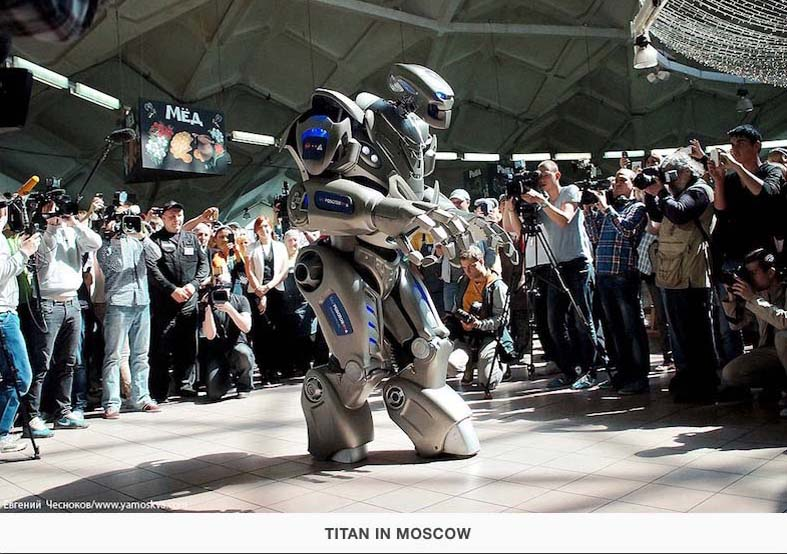 Titan in Moscow